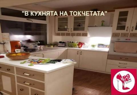 Печен патладжан с халуми от Шеф ТОКЧЕ – Поля Петкова