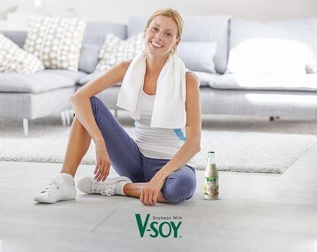 V-soy - здравословна соева напитка за цялото семейство
